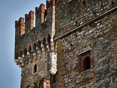 The Castle of Sirmione. Lago di Garda