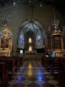 Santa Maria Maggiore at Sirmione.. Lago di Garda