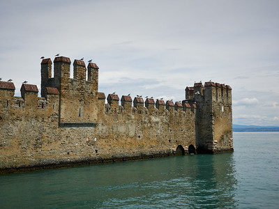 The Castle of Sirmione. Lago di Garda