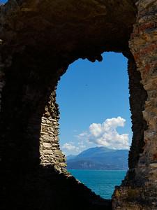 Grotte di Catullo at Sirmione. Lago di Garda