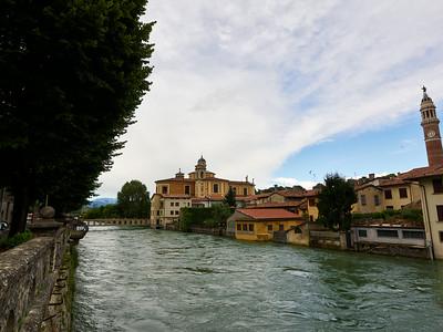 Oglio. Ponte Romano. Palazzolo