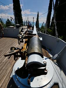 Inland Ship. Vittoriale degli Italiani. Gardone Riviera