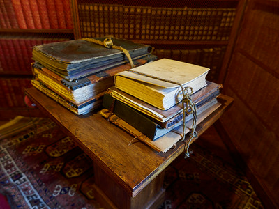 The Books. Vittoriale degli Italiani. Gardone Riviera