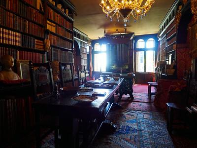 Library. Vittoriale degli Italiani. Gardone Riviera