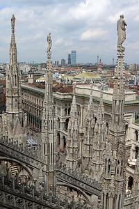 Roof Milan Duomo.