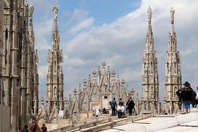 Roof Milan Duomo (Cathedral).