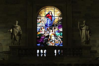 Inside Milan Duomo (Cathedral).