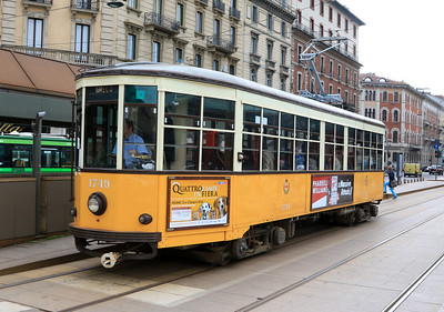 Milan Street Tram