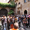 Verona - masses of people in the Romeo & Juliet area.