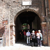 Verona - this is the entrance to the famous Romeo & Juliet balcony area.