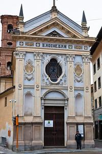 The church of Saint Roche in Bra