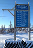 """Natural Habitat Adventures Northern Lights tour, 6-13 Feb 2017.  Churchill, Canada.  The Churchill """"Weather Station""""."""