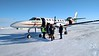 Natural Habitat Adventures Northern Lights tour, 6-13 Feb 2017.  Churchill, Canada.  We board our charter flight  back to Winnipeg.