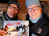 """Natural Habitat Adventures Northern Lights tour, 6-13 Feb 2017.  Churchill, Canada.  We meet the famous Dave Daley, dog sled racer and originator of the Hudson Bay Quest dog sled race.  I get a selfie with Dave as he presents me with my """"Ididamile"""" dog sled certificate.<br /> <a href=""""http://wapuskadventures.com/"""">http://wapuskadventures.com/</a><br /> <a href=""""http://www.theglobeandmail.com/news/national/dave-daley-dares-elements-to-take-dogsled-1200-kilometres/article1207520/"""">http://www.theglobeandmail.com/news/national/dave-daley-dares-elements-to-take-dogsled-1200-kilometres/article1207520/</a><br /> <a href=""""http://www.hbqrace.com/"""">http://www.hbqrace.com/</a><br /> <a href=""""https://frontiersnorth.com/blog/2015/03/my-churchill-dog-sledding-experience"""">https://frontiersnorth.com/blog/2015/03/my-churchill-dog-sledding-experience</a><br /> <a href=""""https://www.travelmanitoba.com/listings/hudson-bay-quest/7046/"""">https://www.travelmanitoba.com/listings/hudson-bay-quest/7046/</a>"""