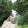 Presque Isle river in the Porcupine Mountains.