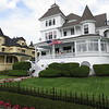 Some of the beautiful old summer cottages on Mackinac Island