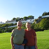 Dick and Susan in front of Fort Mackinac.