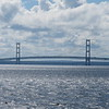 Mackinac Bridge from the ferry.