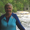 Susan at the Lower Falls