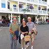 Dick, Jean and Walt at our hotel on the island