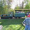 The Toonerville Trolley narrow-gauge railroad to the Tahquamenon River