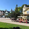 Horse drawn carriage on Mackinac Island.