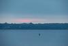 Sunrise across Ramsey Lake in Sudbury.