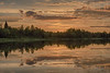 Just before sunrise, Pearl Lake in Timmins. Pseudo HDR efx default.