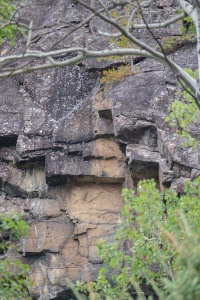 Pijitwabik Palisades near Beardmore Ontario. Highway 11.