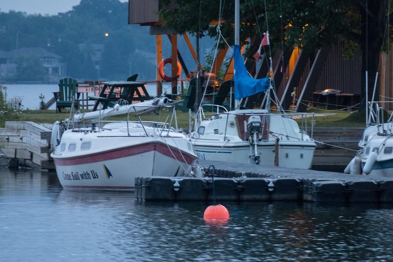 Yacht Club on Ramsey Lake.