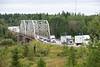 Fauquier, Ontario. Highway 11 bridge.