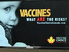 Timmins Airport anti-vaccinations advertisements