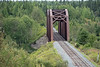 Fauquier, Ontario. Ontario Northland Railway bridge (red).