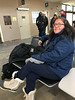 Denise Lantz at Timmins Airport 2019 March 27
