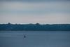 Hint of sunrise across Ramsey Lake