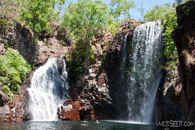 Florence Falls, in Litchfield National Park, Northern Territory