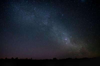 Night sky over Yulara