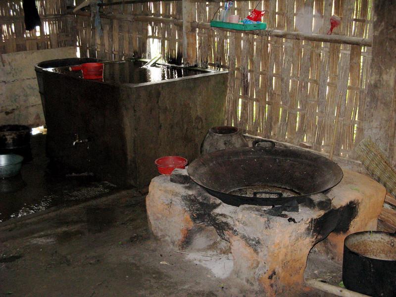 Kitchen in Than Kim home