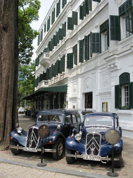 Sofitel Metropole - cars for rent