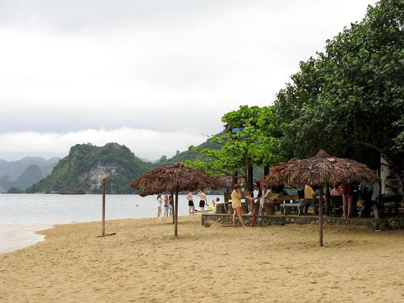 Beach at Titop Island, Halong Bay