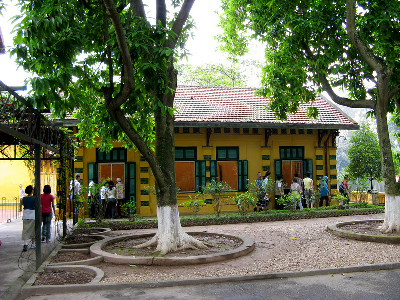 Ho Chi Minh's first home