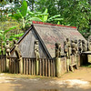 Vietnam Museum of Ethnology - Giarai tomb