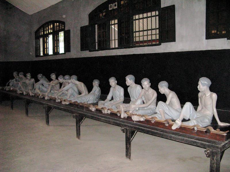 Depiction of Hoa Lo Prisoners