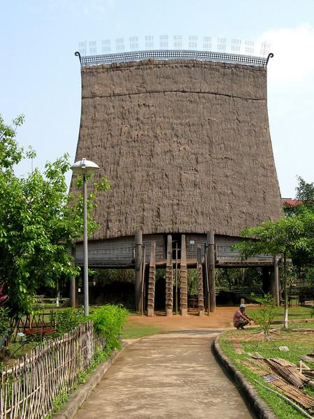 Vietnam Museum of Ethnology - Bahnar Meeting House