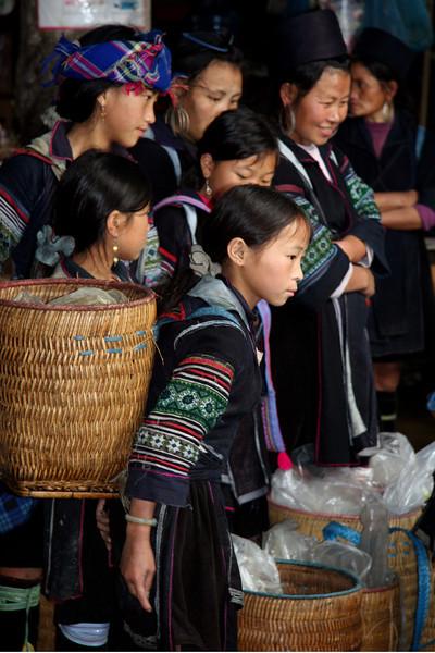 Black Hmong in Sapa