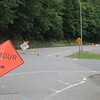 I hadn't know before I saw a headline in Concrete, but WA20 was closed due to a landslide. Luckily there was a detour route; it only added 4 miles to the day.