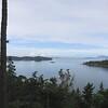 I rode along Chuckanut Drive, giving good views of the Salish Sea.