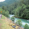 The Skagit River from WA20. I stayed in Newhalem Creek Campground, which had only been open for a few days.