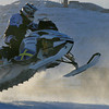 Snowmobile jumping competition<br /> Kiruna 2011
