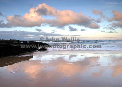 wet beach-flat